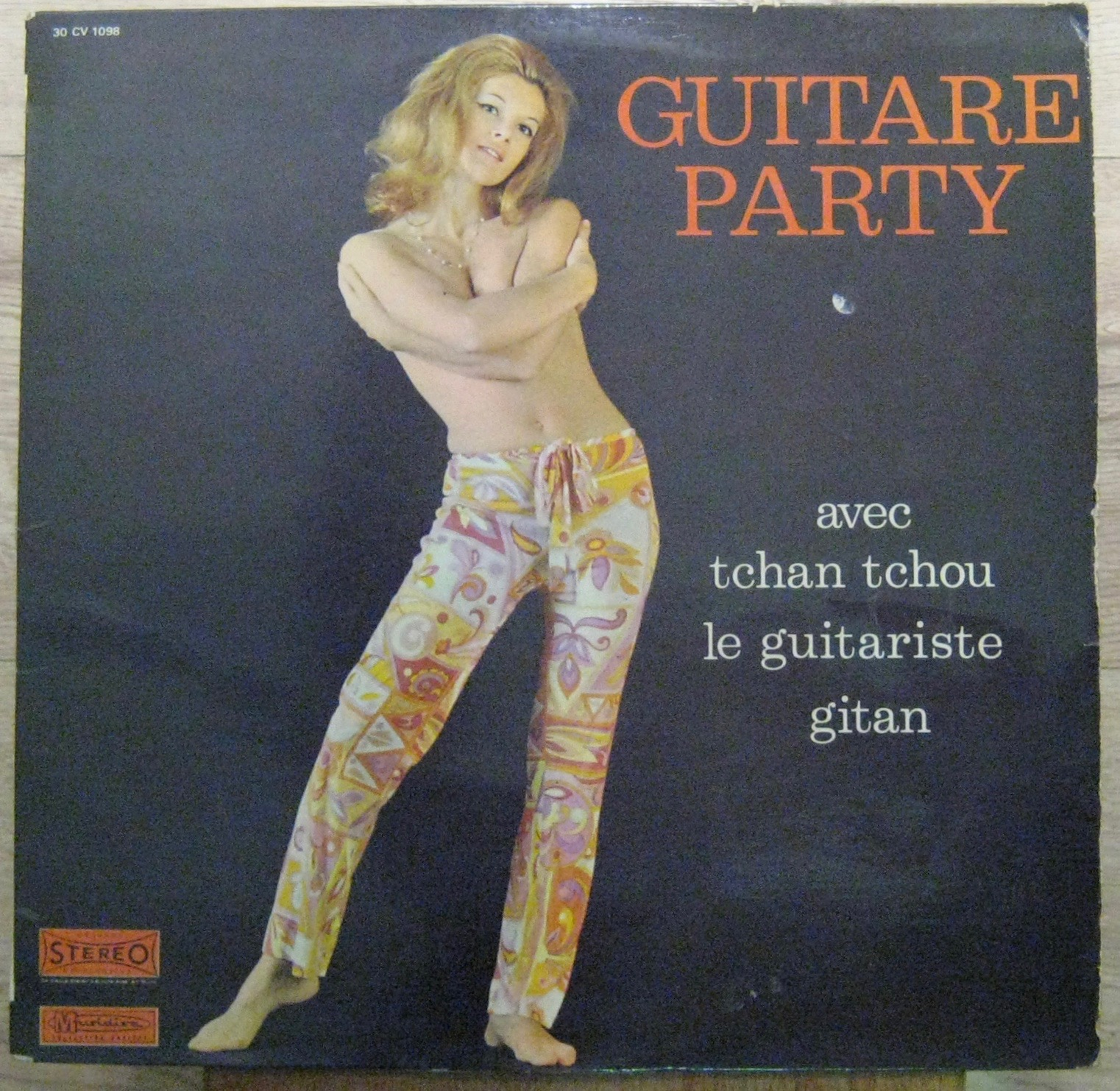 TCHAN TCHOU - Guitare Party - LP