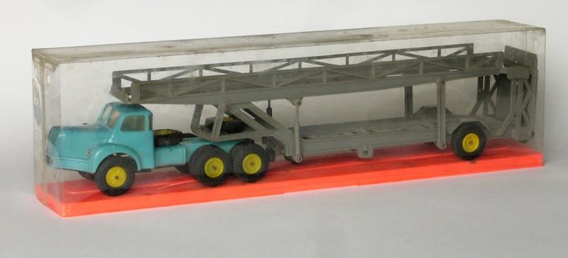 #1120 Berliet TBO Norev porte-auto en boite web