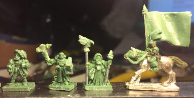 Warmonger Miniatures Landsknecht Offiziersstab (Leaders) KS 20021510080118973516648419