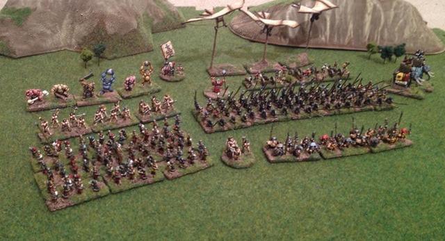 Warmonger Miniatures Landsknecht Offiziersstab (Leaders) KS 20021605440818973516649551