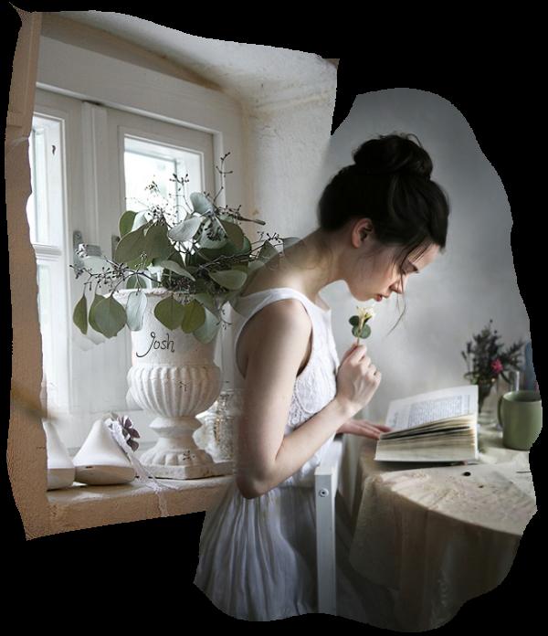 lecture femme livre fenetre fleur et feuilles a lamain tubgd_josh