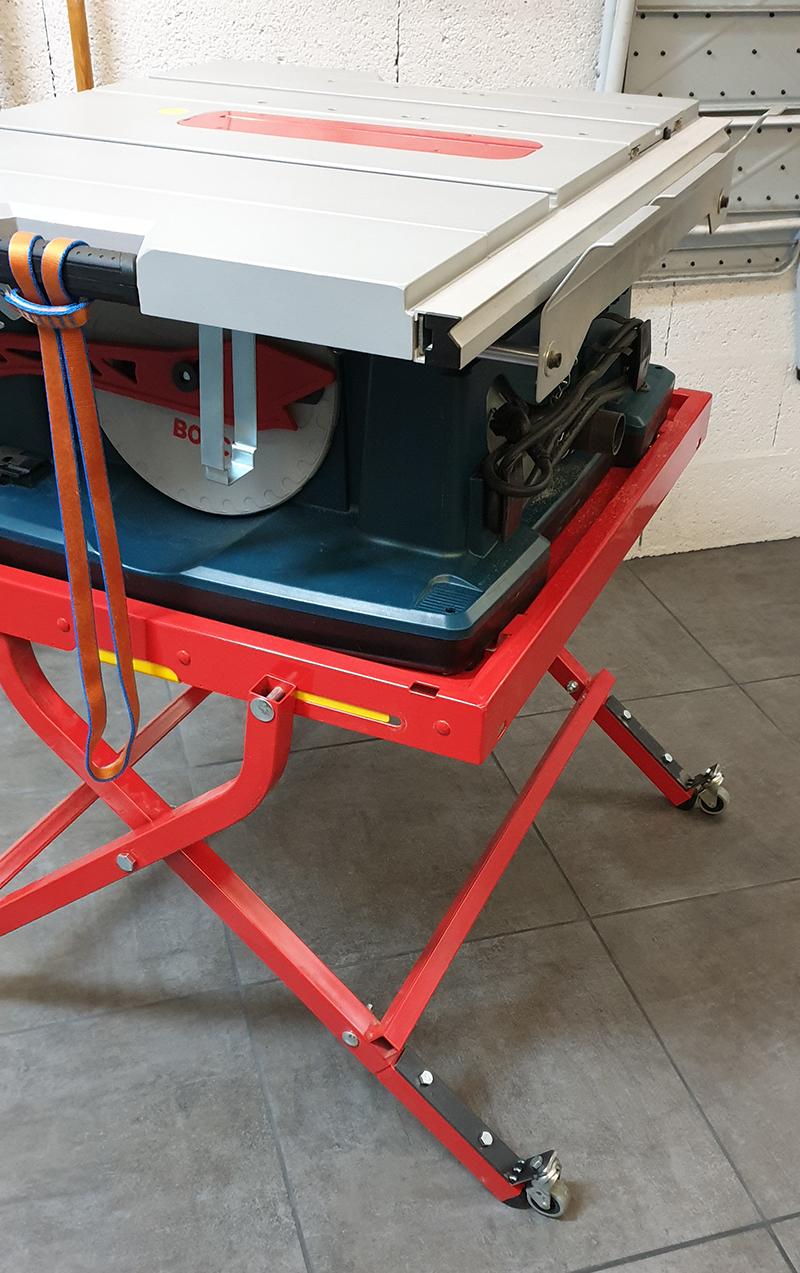 Quelques soudures pour petite modification support Bosch GTA 6000 20030107424124320016669207