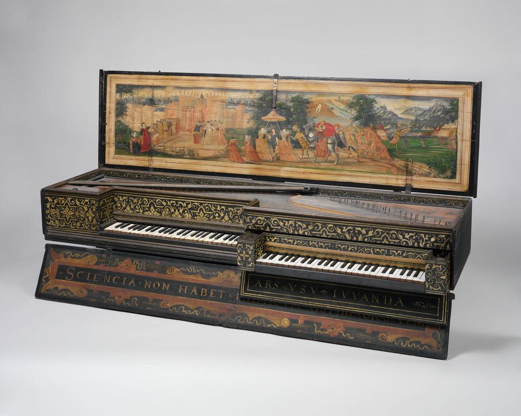 Fabrication d'instruments de musique anciens de bgire - Page 2 8ANjJb-A-Double-Moeder-und-Kind