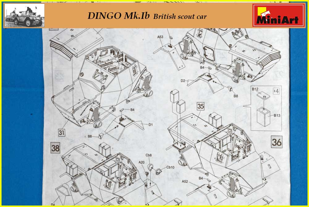 [Terminé] DINGO Mk.Ib British scout car ÷ MiniArt ÷ 1/35 2003090618035585016681706