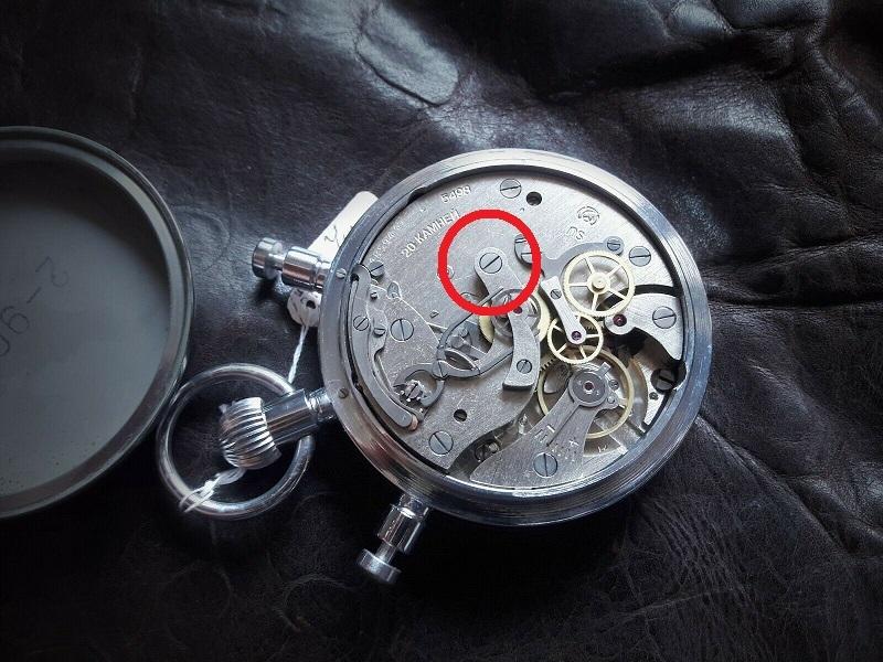 Chronographe Slava à rattrapante 20031304044624054416687360