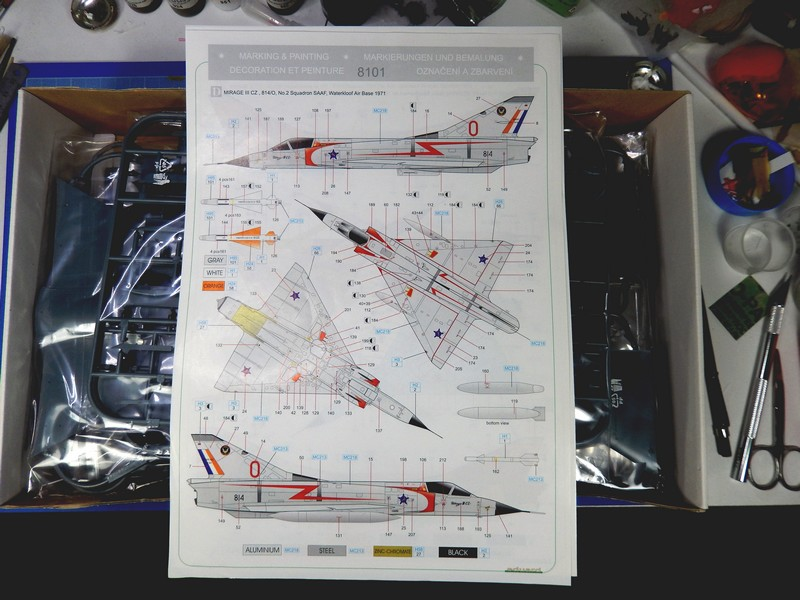 [GB OURSIN VORACE]  Mirage IIICZ - Eduard profipack 1:48 20032003363117732316696377
