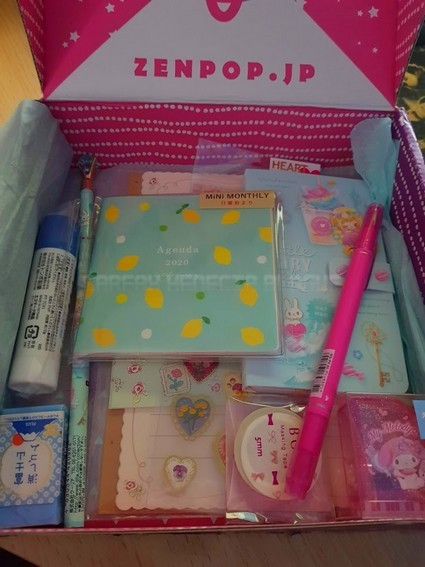 zenpop box pastel fairytale