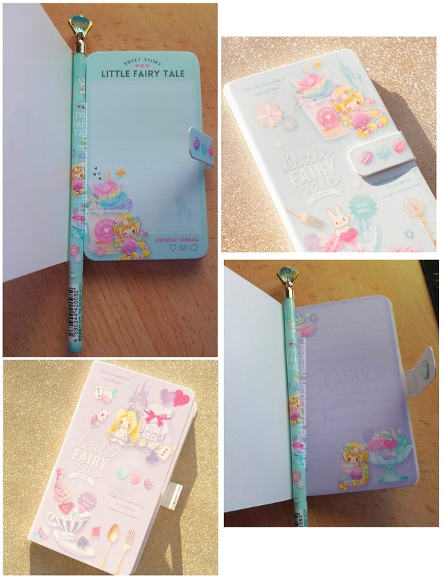 little fairytale notebook