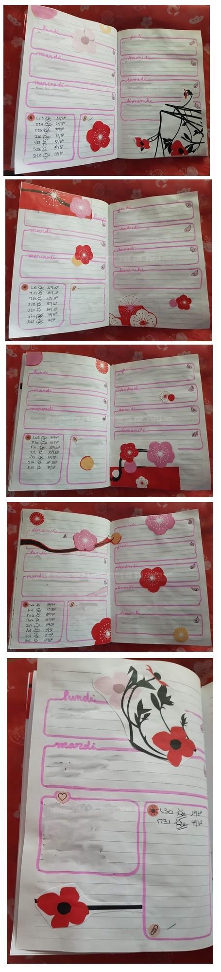 bullet journal sakura
