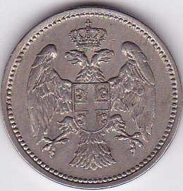 20 Para Serbe 1912 D/