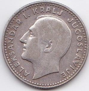 10 Dinars Alexandre Ier 1931 Poissy