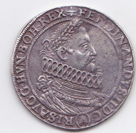 Demi-thaler Ferdinand II Vienne 1620 D/