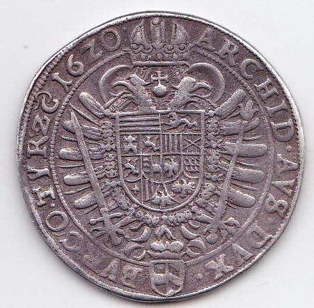 Demi-thaler Ferdinand II Vienne 1620 R/