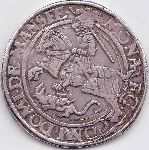 Thaler Mansfeld Vorderort 1541 Eisleben