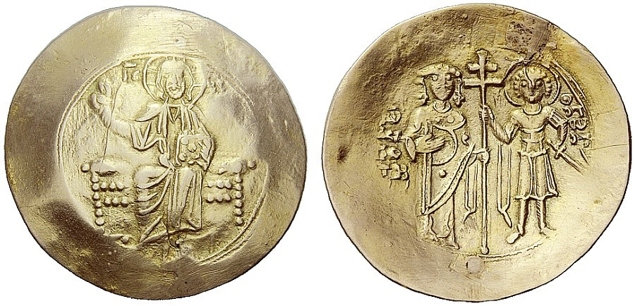 Trachy electrum Jean II Comene Constantinople