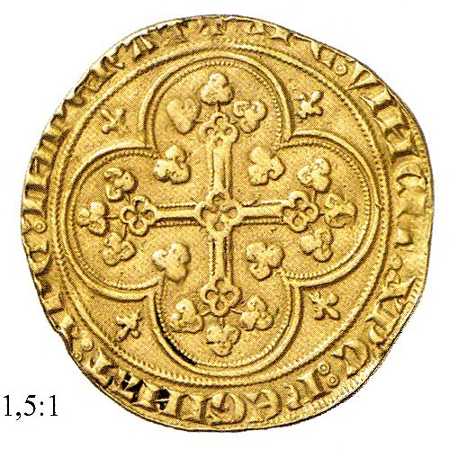 Florin Georges Philippe VI Angers 1341 R/