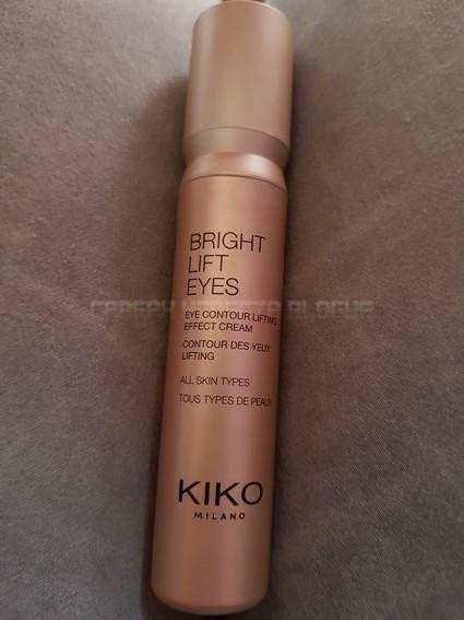 contour des yeux de kiko