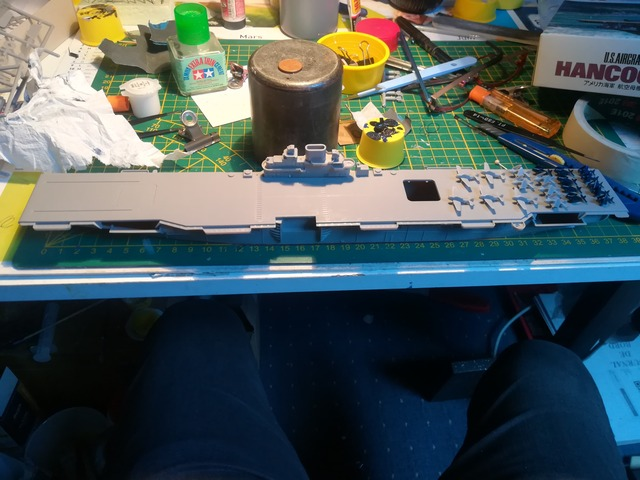 USS Hancock 1/700 Hasegawa 20041801305023576216749789