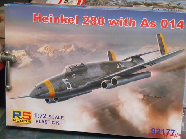 MISTEL .HEINKEL 280 ET LIPPISCH P.13 2004250827495625616760411