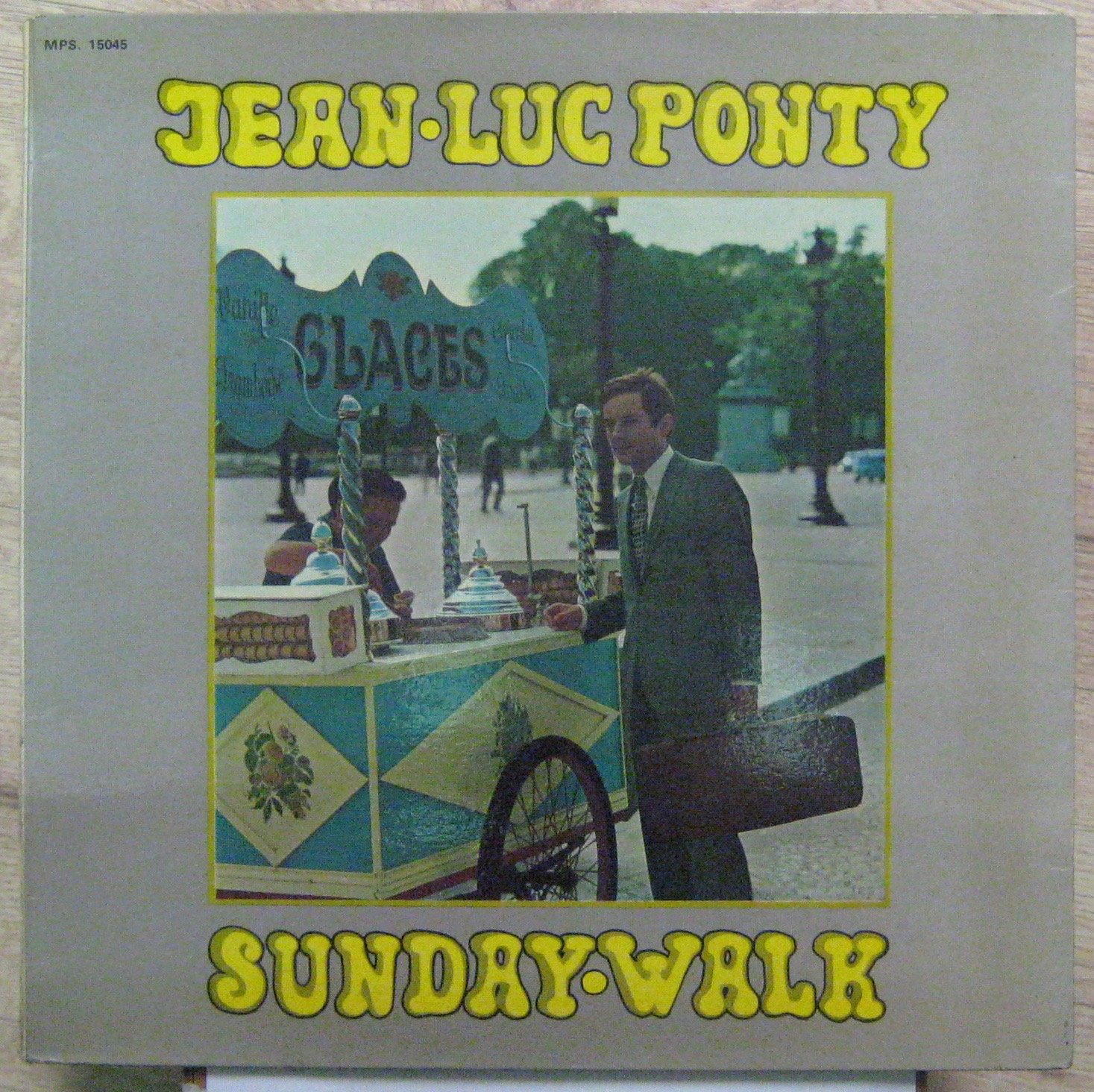 PONTY JEAN-LUC - Sunday Walk - LP