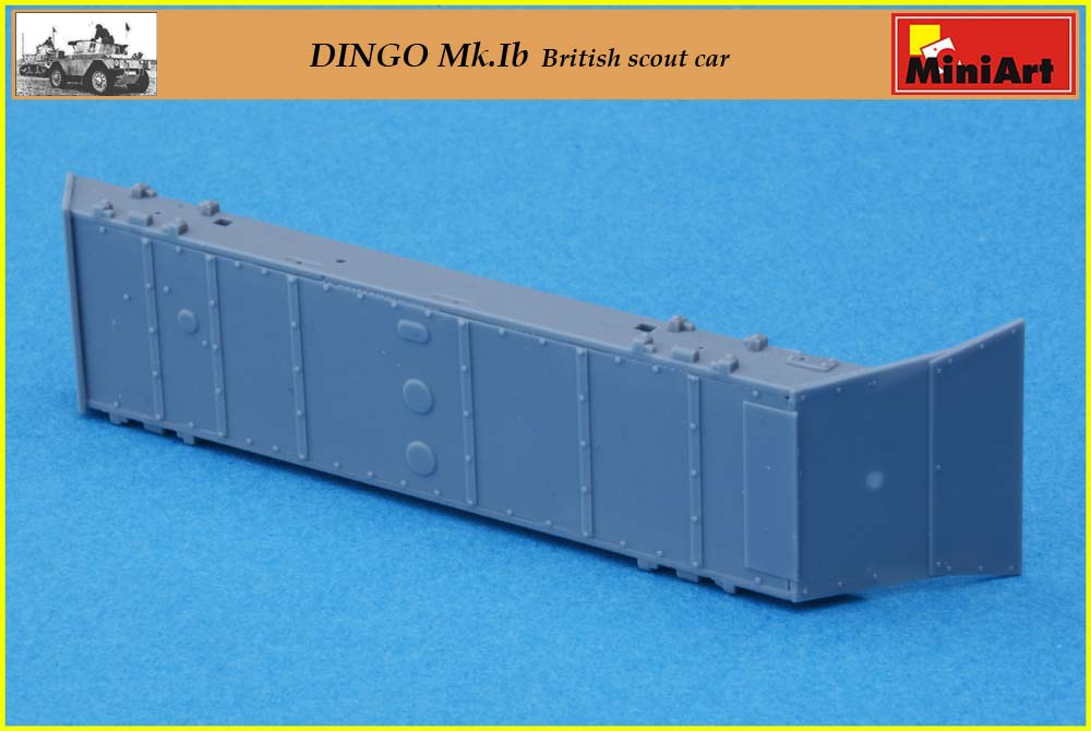 [Terminé] DINGO Mk.Ib British scout car ÷ MiniArt ÷ 1/35 2005100550075585016790280