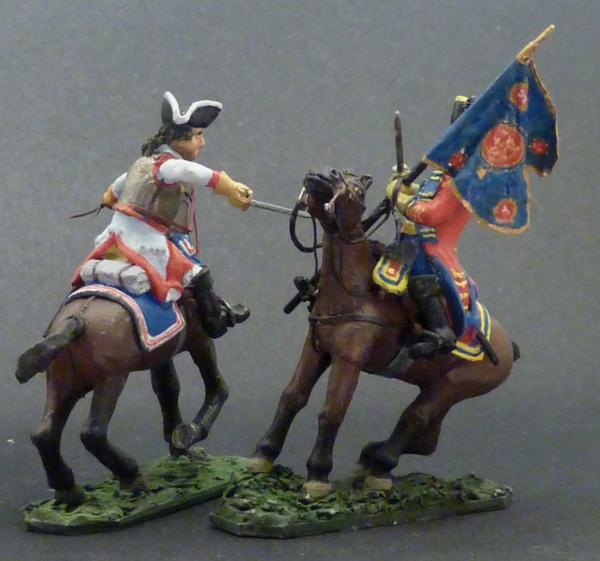 Warburg 1760 - duel de cavalerie en 28mm 20051201505510262916792888