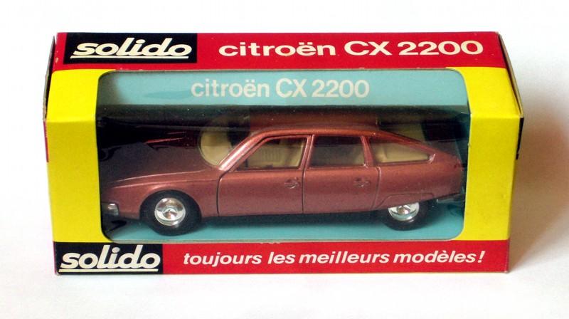#2244 Citroën CX 2200 Solido en boite web