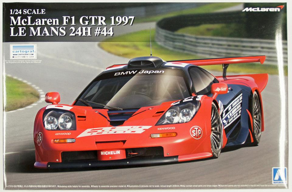 """Mc Laren F1 GTR """"Le Mans 97"""" - 1/24e [Aoshima] 8qD9Jb-presentation1"""