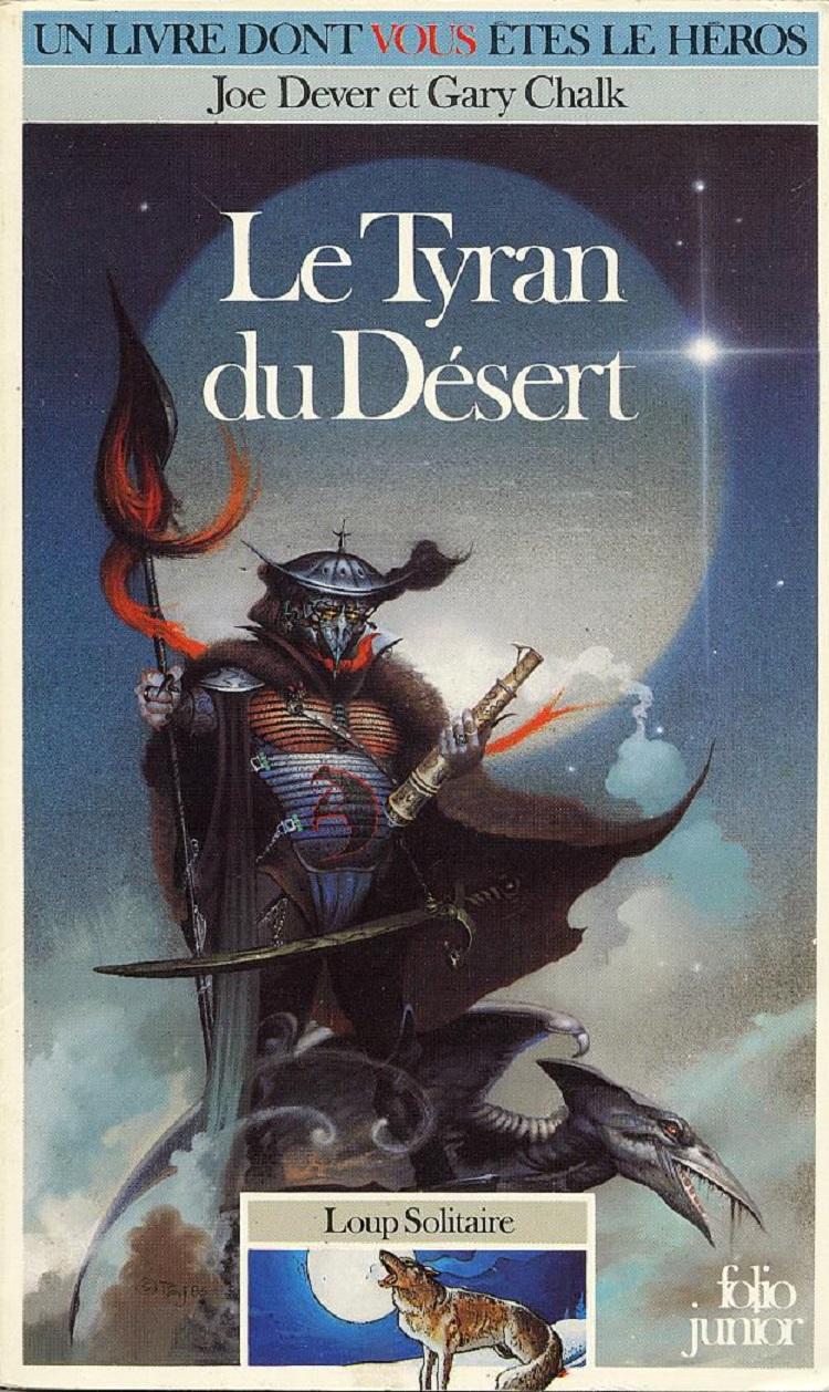 UN LIVRE DONT VOUS ÊTES LE HÉROS : LE TYRAN DU DÉSERT (1985) dans Un Livre dont vous êtes le Héros nrsBJb-1