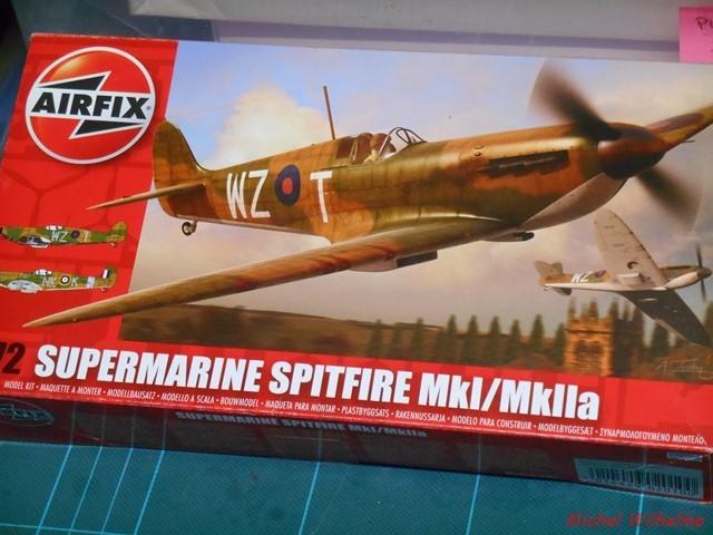 SPIT MK II .   Airfix  2005210902515625616805582