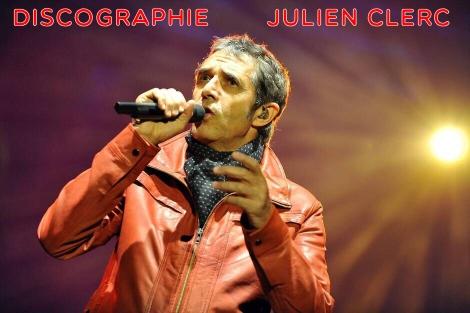 Discographie de  Julien Clerc