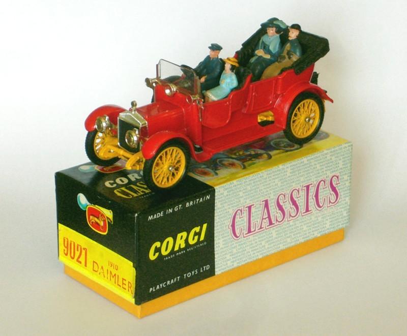 #2241 Daimler Corgi classics face sur boite web