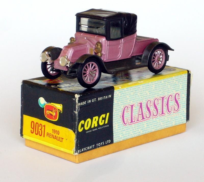 #2100 Renault 12-16 Corgi-Toys face sur boite web