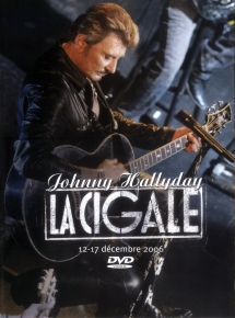 Johnny Hallyday A la Cigale