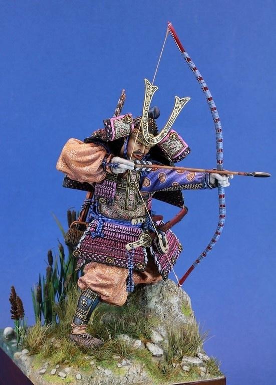 Samouraï archer Pegaso 90 mm : terminé 20060812484214703416839554