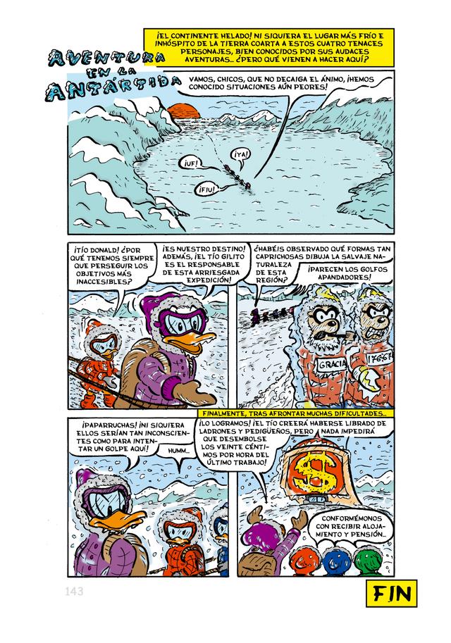 Aventura en la Antártida RGB