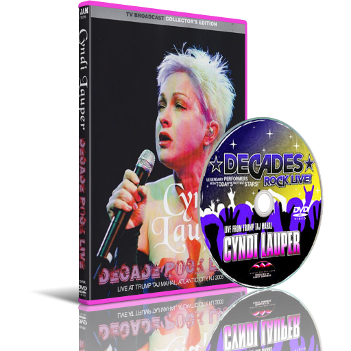 Cyndi Lauper and FriendsLive at Decades Rock Live!