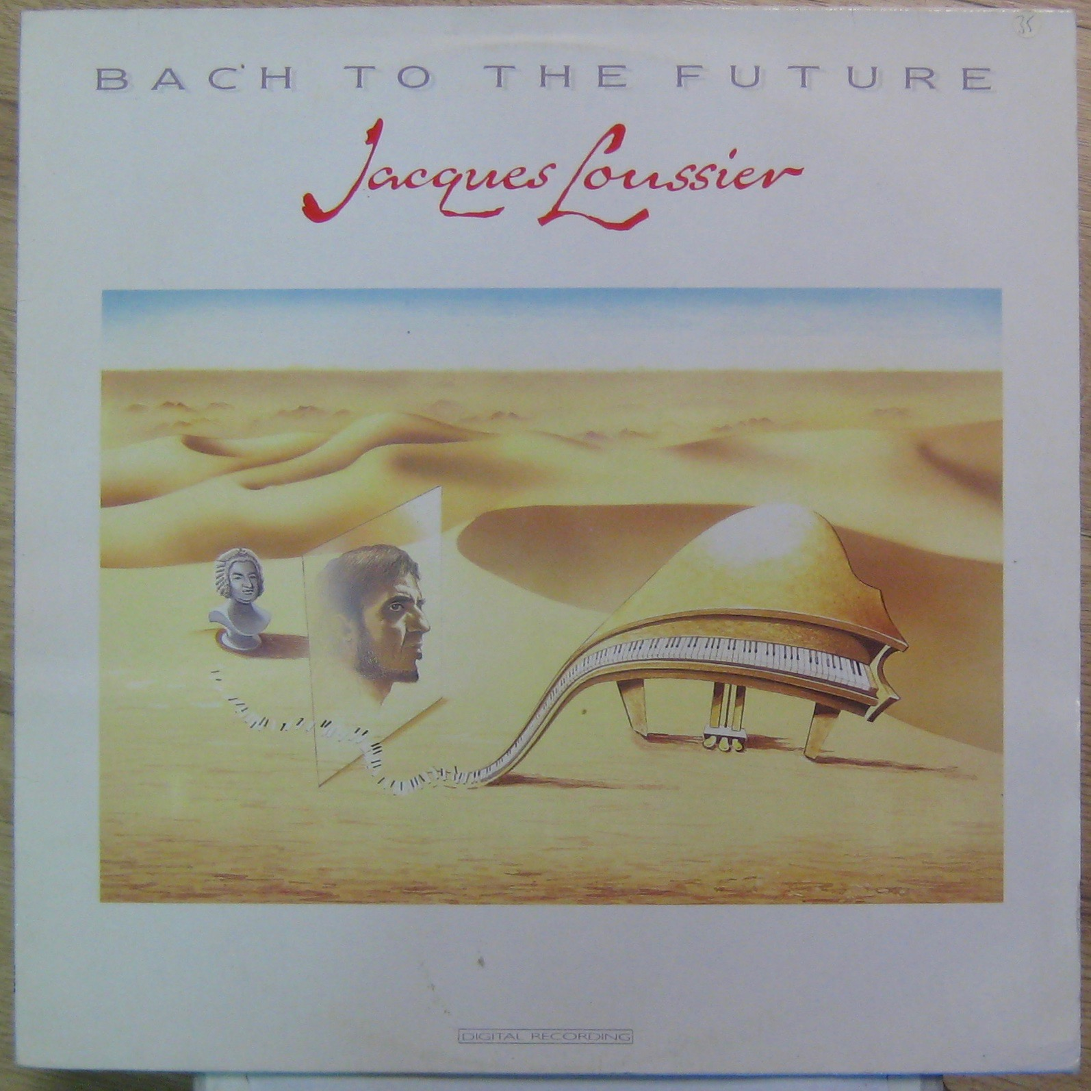 LOUSSIER JACQUES - Bach to the future - LP