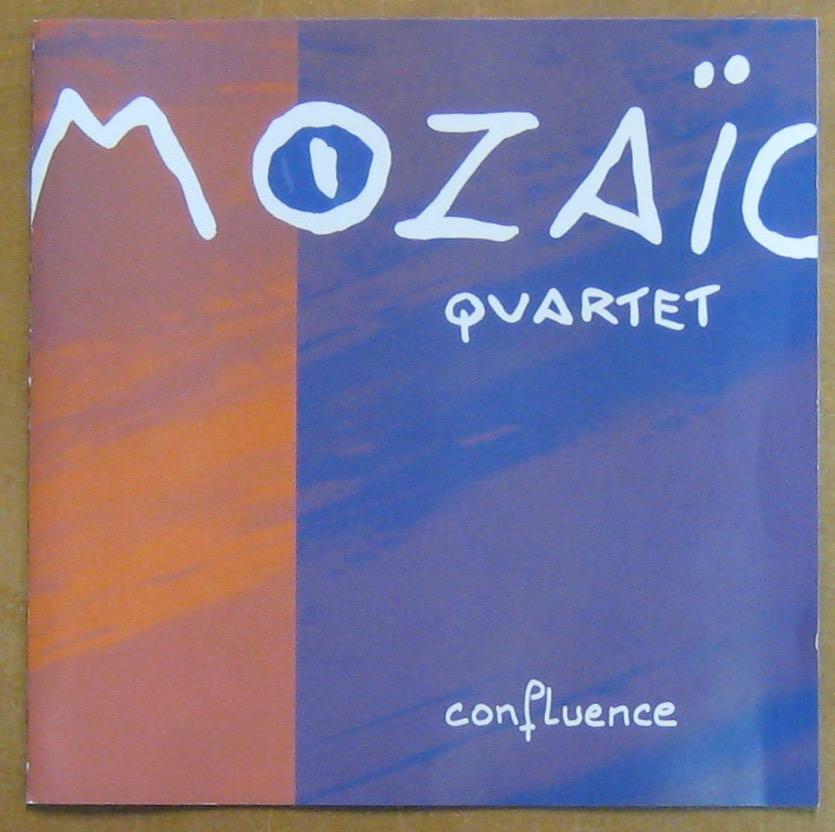 MOZAÏC QUARTET - Confluence - CD