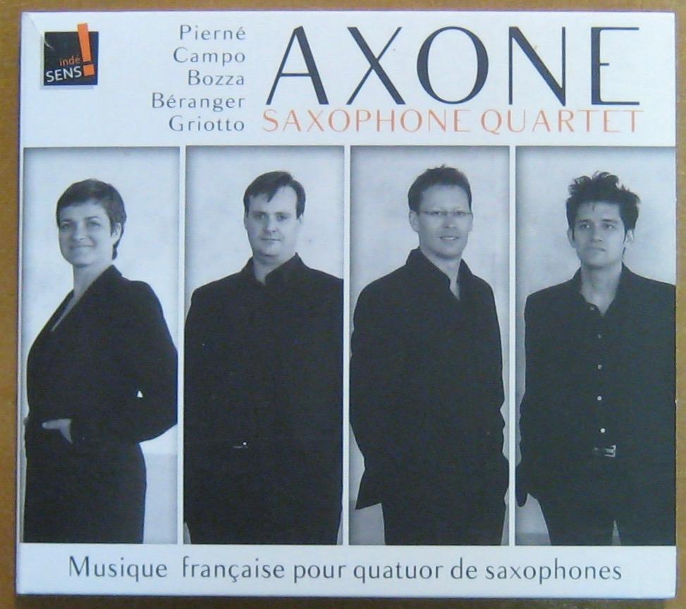 AXONE - SAXOPHONE QUARTET - Musique française - CD