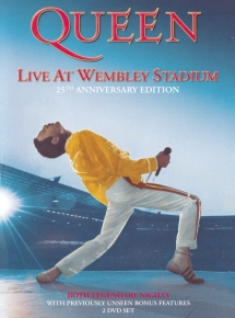 QUEEN Live At Wembley Stadium - Edition 25ème Anniversaire