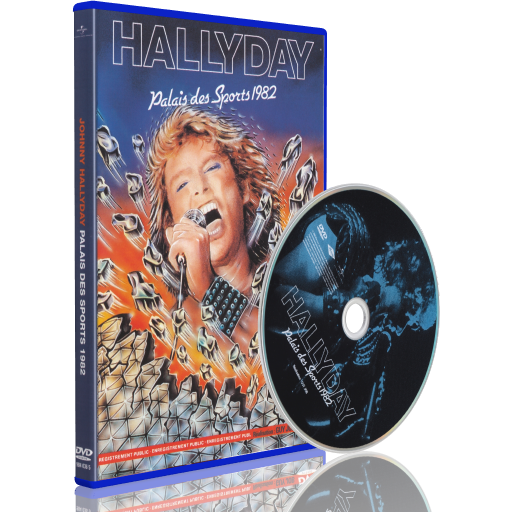 Johnny Hallyday Live au Palais des Sports 1982