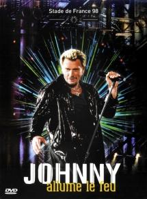 Johnny Hallyday Allume le feu Stade de France 1998