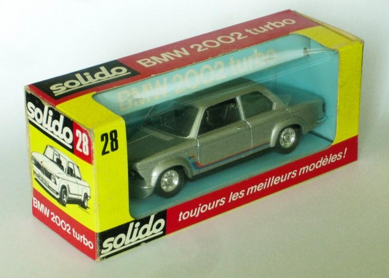 #2255 BMW 2002 Turbo Solido en boite web