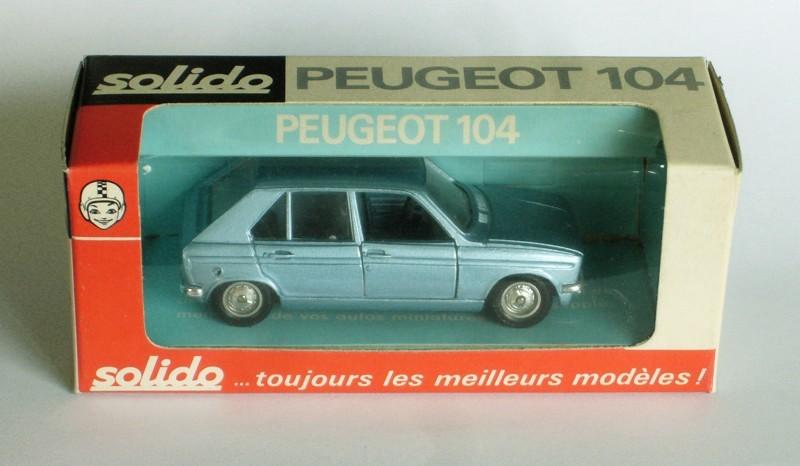 #2270 Peugeot 104 Solido en boite web
