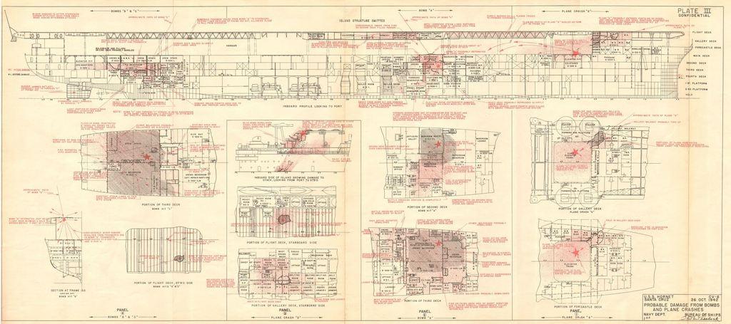 << USS Hornet CV-8 Merit International | N° 62001 | 1:200 >> - Page 13 90kPJb-Hornet-3