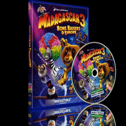 Madagascar 3 Bons Baisers D'Europe
