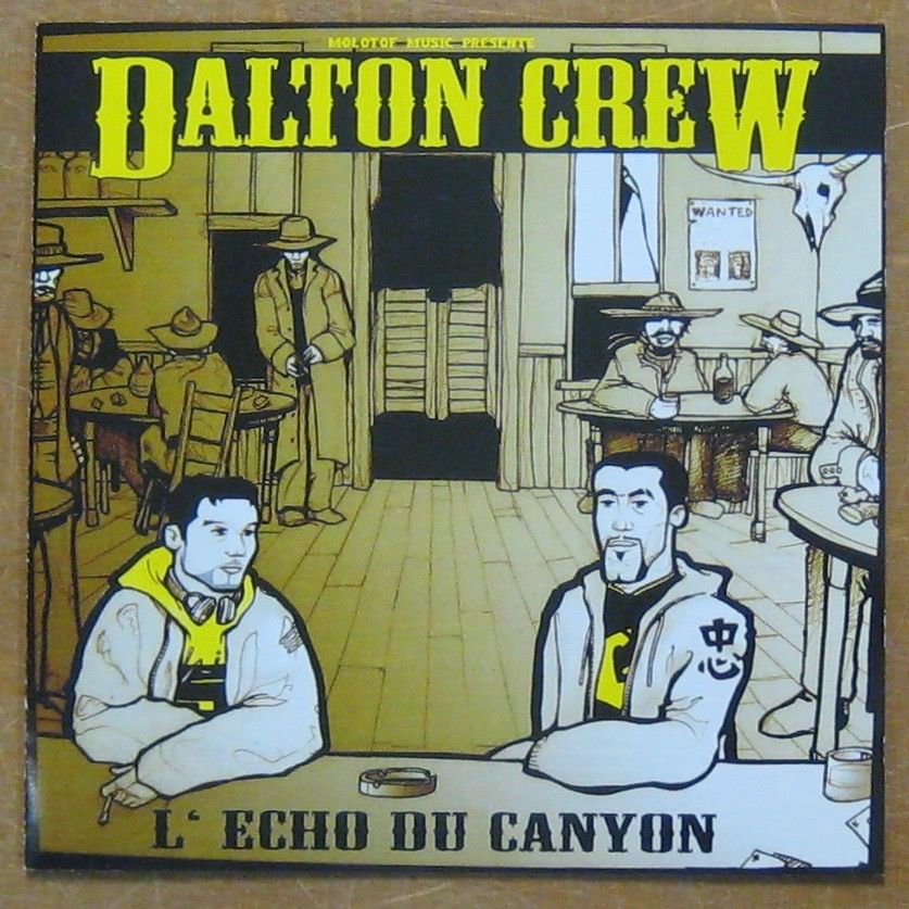 DALTON CREW - L'echo du canyon - CD