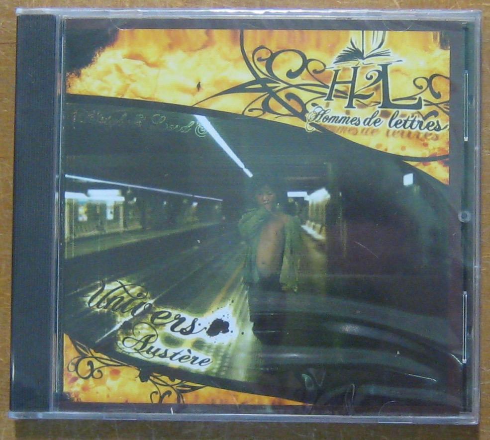 HOMMES DE LETTRES - Univers austère - CD