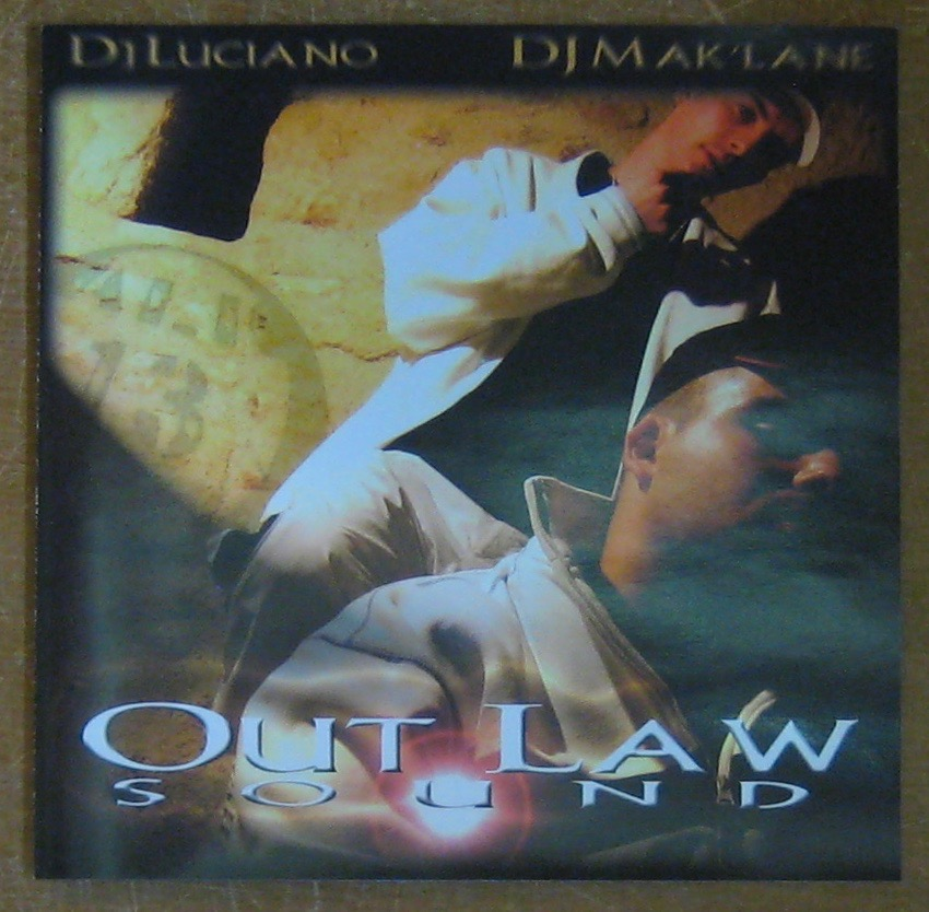 DJ LUCIANO/ DJ MAK'LANE - Out Law Sound - CD